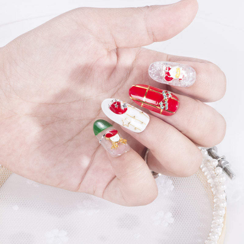 The beautiful nail patch - 10 pieces