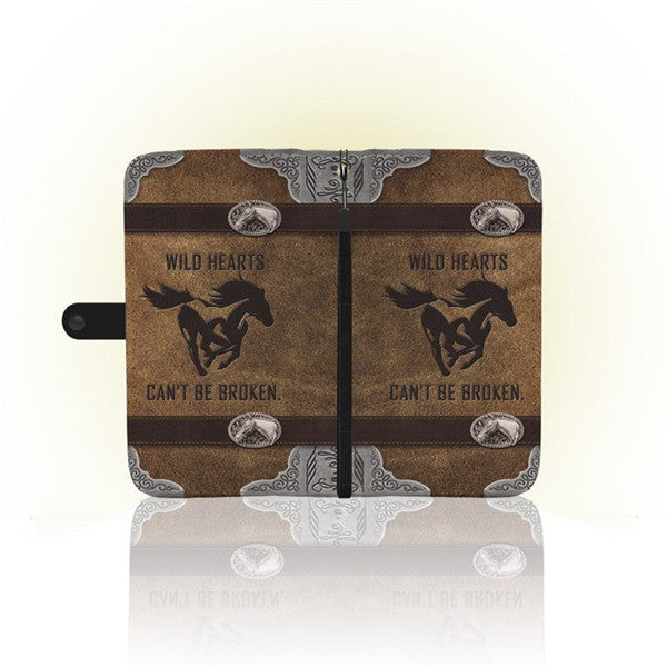 sports shoes 0d4bf 24680 AWESOME HORSE PHONE WALLET CASE