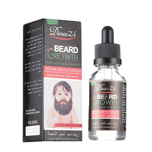 Beard & Hair Gentle Growth Fluid - For Men and Women