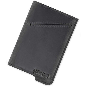 Minimalist Wallet - RFID Slim Card Holder Wallets with Leather Case