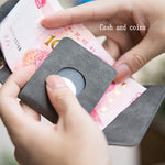 2019 original RFID anti-theft mini wallet - key / card / cash / coin