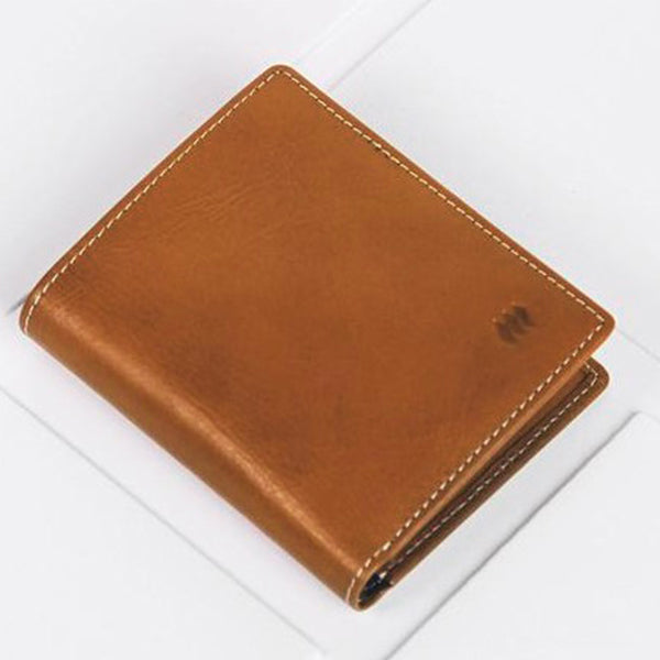 UK Portable leather handmade wallet - Light & Large capacity