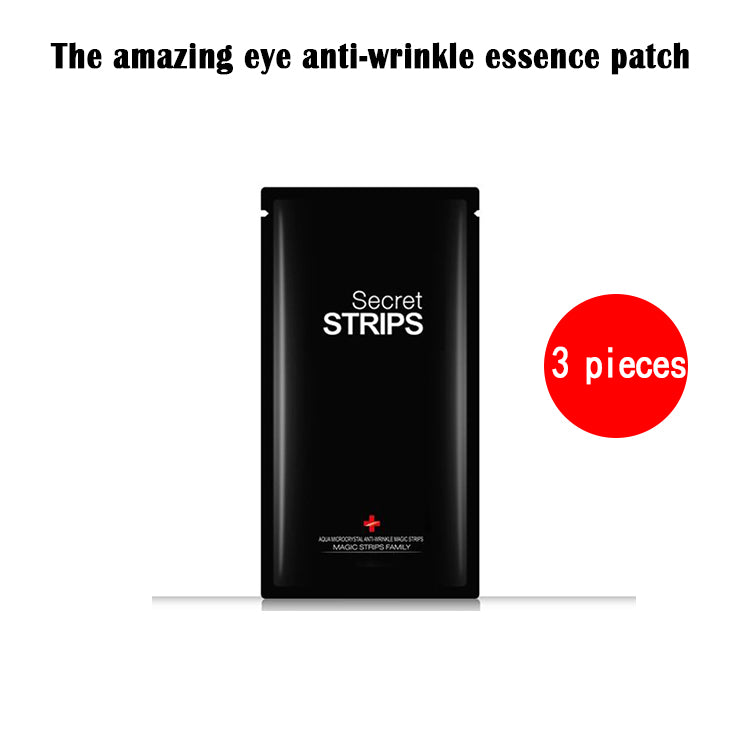 The amazing eye anti-wrinkle essence patch - Can be reused by soaking water