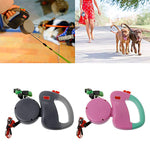 Auto Retractable Double-Headed Dog Leash Walking Lead/3M