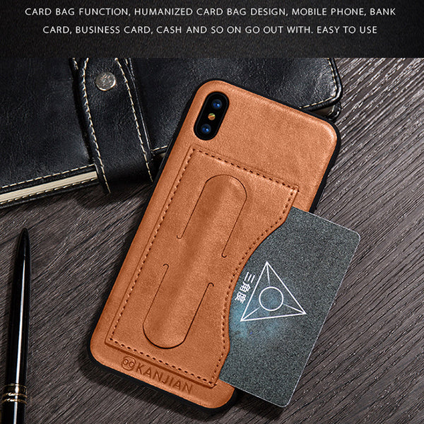 3 in 1 Phone case / Card slot / Magnetic Mobile phone holder for Samsung S9/S9 plus