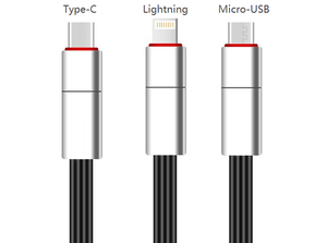 Renewable USB Cable For iPhone/Android/Type-C