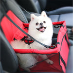 Pet Hammock Dog Seat Cover With Safety Belt For Pets