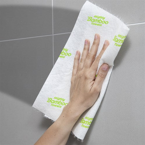 Super absorbent reusable bamboo fibre kitchen towels