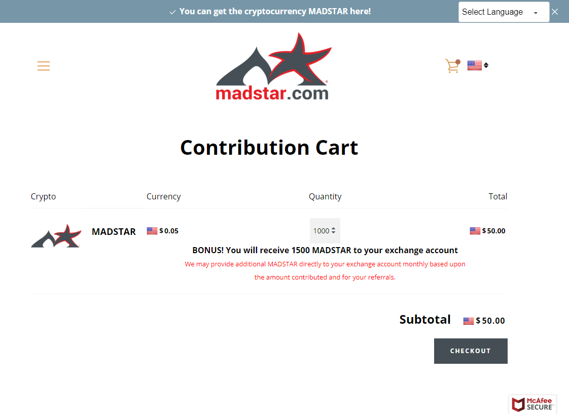 Get more MADSTAR at madstar.com