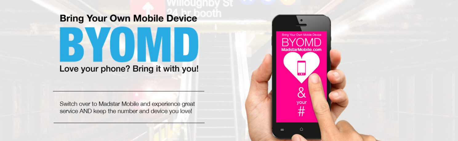 Madstar Mobile BYOMD Bring Your Own Mobile Device