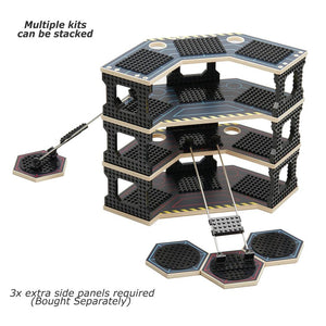 Base Ace EVO multiple kits stack 3D Play Platform for LEGO mini figures