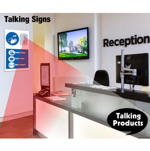 Talking PIR Motion Sensor for Talking Posters