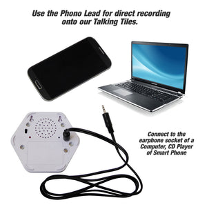 Phono Lead for Talking Tiles