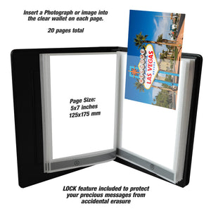 Talking Photo Album Deluxe 20 pages 5x7 inches