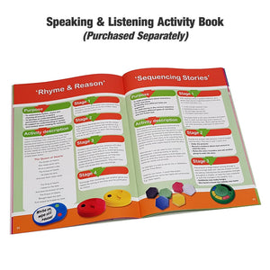 Talking Tins Speaking and listening activity book