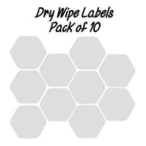 dry wipe labels for talking tiles