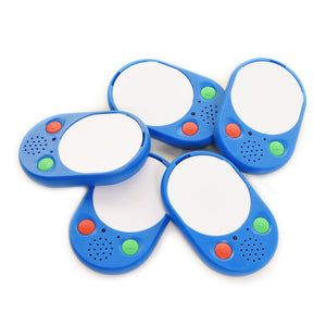 Audio Buttons for auible instuctions Voice Pads