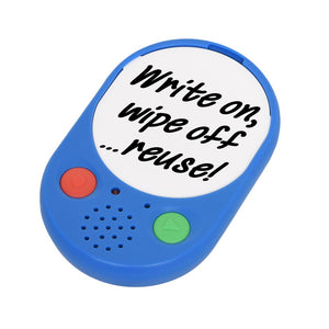 Voice Pad Dry Wipe Feature. Talking Products