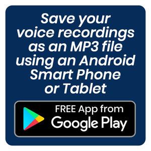 FREE Android MP3 Voice Recorder App
