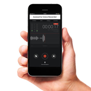 Apple MP3 Voice Recorder App