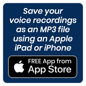 Apple iPhone MP3 Voice Recorder App