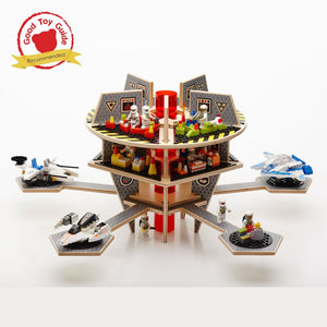 Base Ace 3D Play Platforms for LEGO mini figures and bricks