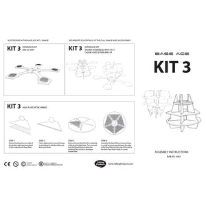Base Ace Assembly Instructions for Kit 3