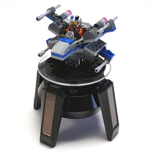 Base Ace Solar Rotating Display Platform for LEGO mini figures