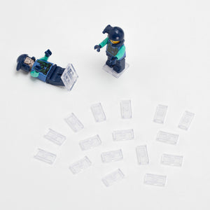 LEGO Mini Figure Stands - 10 Pairs