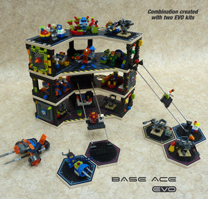 Base Ace EVO Kit Pack of 2 3D Play Platform for LEGO mini figures