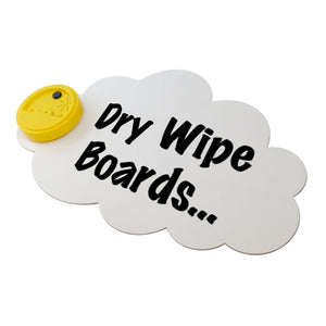Dry Wipe Boards - Mix Pack of 10