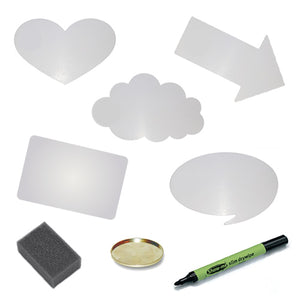 Dry Wipe Board Kits - Pack of 10