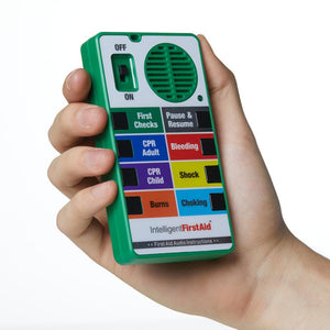 First Response Talking First Aid Handheld Device
