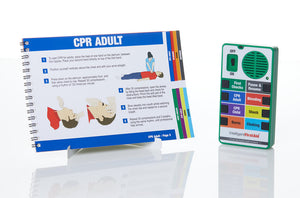 First Response Talking First Aid Device and Manual