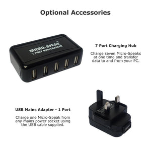 USB 7 port Hub Charger Mains Adapter