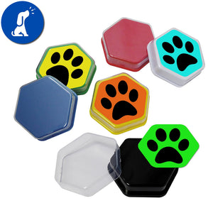 talking dog talking buttons sound dog training