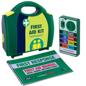 Talking First Aid Kit by Intelligent First Aid