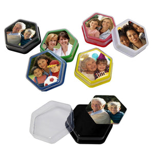 Talking Tile Voice Recorder Black Talking Photo Frames Dementia Aid