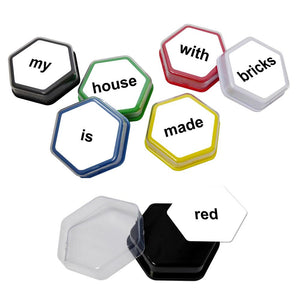 Talking Tiles Voice Recorder sentence building activities