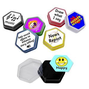 Talking Tile Voice Recorder Answer Buzzer learning resources