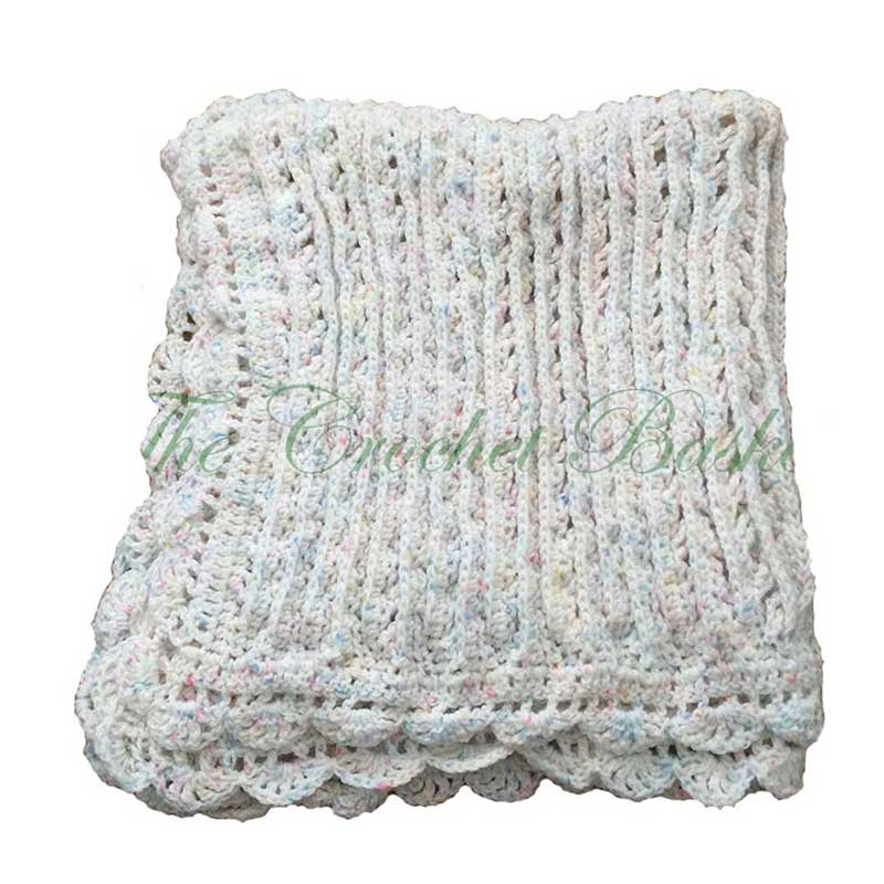 Crochet Baby Afghan Two Sides