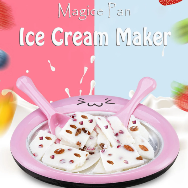 Magic Pan Ice Cream Maker(FREE SHIPPING)