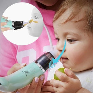 Booger Cleaner - Clean your child's nose in a healthy way