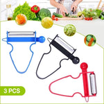 TypicalGoodies™ MAGIC TRIO PEELERS [SET of 3]
