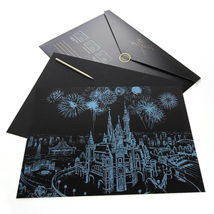 DREAM CASTLE SCRATCH PAINTING KIT