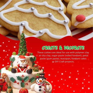 Christmas Cookies Cutters (22 Pcs Set)