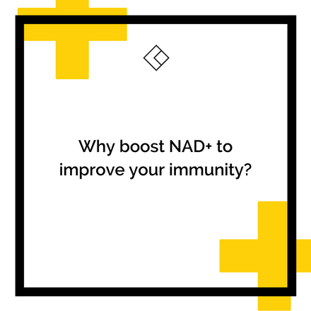 Why boost NAD+ to improve your immunity?