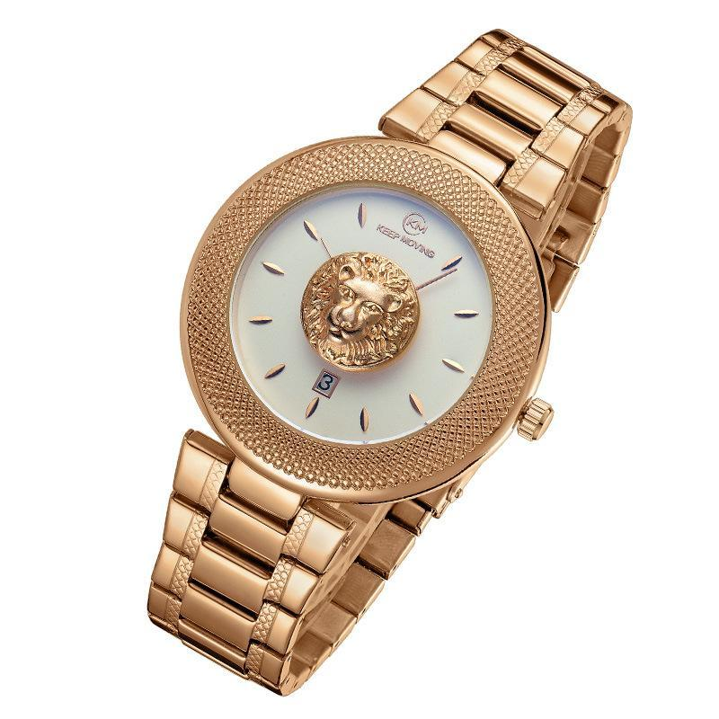 Lion Head Luxury Watch