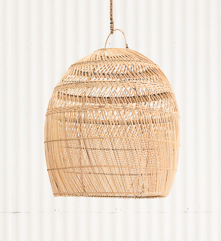 Diliah Rattan Oversized Lightshade