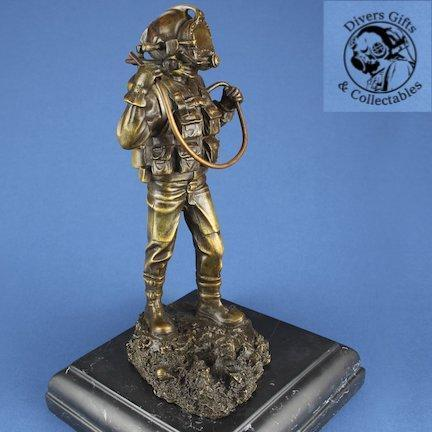 Kirby Morgan Bronze Diver